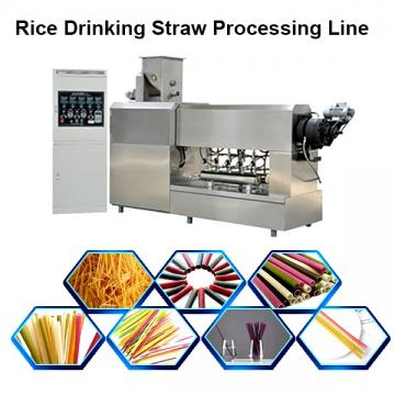 Production Line Spaghetti Industrial Pasta Making Machine Pasta Straw Making Machine Degradable Straw Processing Line