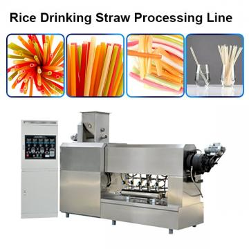 Stainless Steel 100 Kg/H Stainless Steel Fully Automatic Macaroni Pasta Making Machine Degradable Straw Making Machine