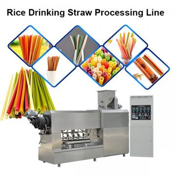 Biodegradable Drinking Straw Making Machine Sugarcane Fiber PLA Raw Material