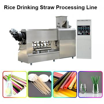 Hot Selling Full Automatic Extruded Italian Pasta Macaroni Making Machine Rice Straw Making Machine